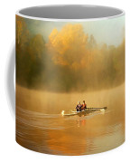 Foggy Morning On The Chattahoochee Coffee Mug by Darren Fisher