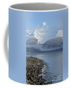 Foggy Mountain Beyond Coffee Mug