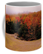 Foggy Mountain Landscape Coffee Mug