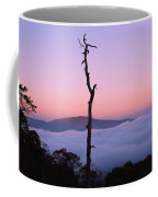 Foggy Mountain Morning Coffee Mug