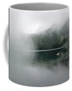 Foggy Mowich Lake Coffee Mug