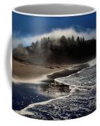 Foggy Pacific Reflections Coffee Mug