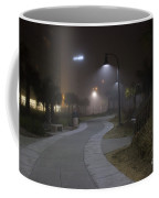 Foggy Path Coffee Mug by Nelson Watkins