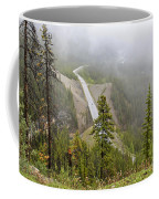 Foggy View From Icefields Parkway Coffee Mug