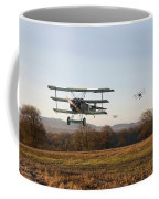 Fokker Dr1 - Day's End Coffee Mug by Pat Speirs