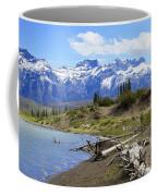 Following The Athabasca River Coffee Mug