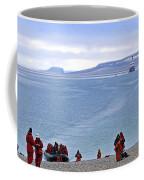 Following The Footsteps Of  Roald Amundsen.. Coffee Mug