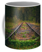 Following The Tracks Coffee Mug