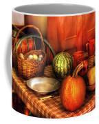Food - Nature's Bounty Coffee Mug by Mike Savad