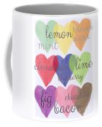 Foodie Love Coffee Mug