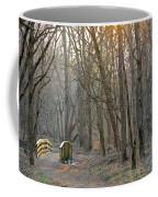Foot Bridge In Fort Harrison State Park Coffee Mug