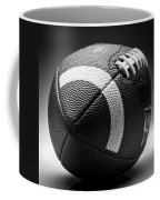 Football Black And White Coffee Mug