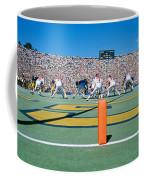 Football Game, University Of Michigan Coffee Mug