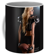 Football Girl Coffee Mug