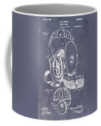 Football Helmet Patent Coffee Mug