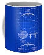 Football Patent 1902 - Blue Coffee Mug