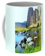 Footbridge At Smith Rock Coffee Mug
