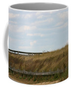 Footbridge Through The Dunes Coffee Mug