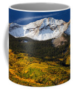 Foothills Of Gold Coffee Mug by Darren  White