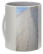 Footprints And Pawprints Coffee Mug
