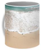 Footprints In The Sand Coffee Mug