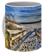 Footprint's In The Sand Coffee Mug