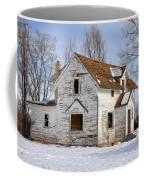 Footsteps In The Snow Coffee Mug