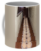 Footsteps On Wooden Stairs Coffee Mug