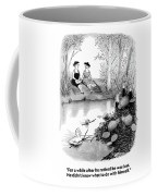 For A While After He Retired He Was Lost Coffee Mug