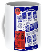For Better Entertainment Coffee Mug