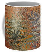 Forces Of Nature - Abstract Art Coffee Mug by Carol Groenen
