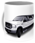 Ford Excursion Stretched Limousine Coffee Mug