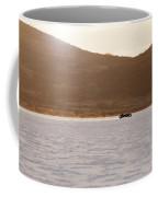 Ford Hot Rod On The Salt At Full Throttle Coffee Mug
