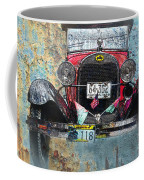 Ford Model A 1928 Oldtimer Coffee Mug