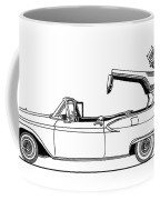 Retractable Ford Top Going Down Coffee Mug