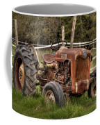 Ford Tractor Coffee Mug by Alana Ranney