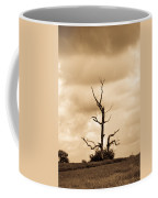 Foreboding Clouds Over Ghost Tree 1 Coffee Mug