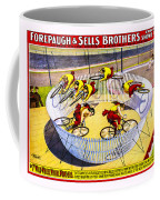 Forepaugh And Sells Wild Wheel Whirl Wonders Coffee Mug