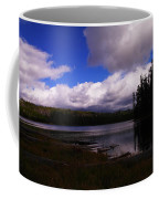 Forest And Clouds Coffee Mug