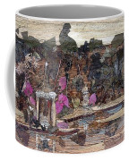 Forest Behind Temples  Coffee Mug