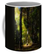 Forest Bench Coffee Mug