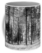 Forest Black And White Coffee Mug