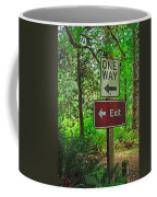 Forest Exit Coffee Mug