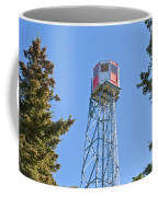 Forest Fire Watch Tower Steel Lookout Structure Coffee Mug