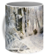 Forest In Winter Coffee Mug
