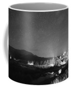 Forest Of Stars Above The Chapel On The Rock Bw Coffee Mug