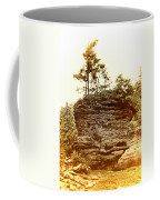 Forest On A Rock Coffee Mug
