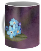 Forget Me Not 02 - S0304bt02b Coffee Mug