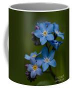 Forget Me Not Flower Coffee Mug