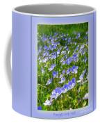 Forget Me Not Coffee Mug
